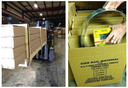 Vane-Cartons-on-Fork-Lift-packaging