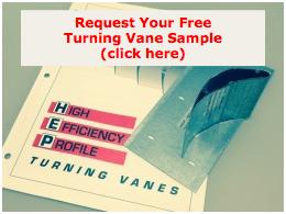 Engineers Specify Aero Dyne Turning Vanes
